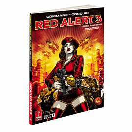 Command and Conquer Red Alert 3 Strategy Guide Strategy Guides and Books