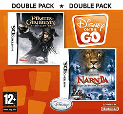 Pirates of the Caribbean 3 and The Chronicles of Narnia Double Pack - Disney on the Go DSi and DS Lite Cover Art