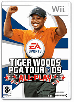 Tiger Woods PGA Tour 09: All Play Wii Cover Art