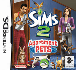 The Sims 2: Apartment Pets DSi and DS Lite Cover Art