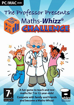 Maths-Whizz Challenge PC Games Cover Art