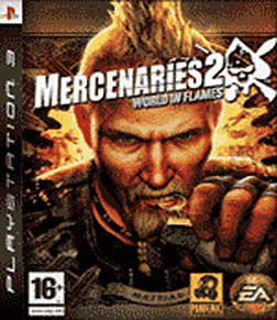 Mercenaries 2: World In Flames PlayStation 3 Cover Art