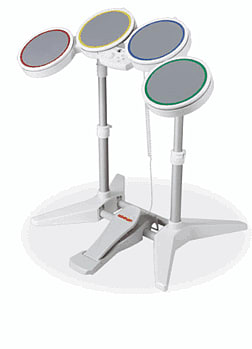 Rock Band: Drum Kit Peripheral for Nintendo Wii Accessories 