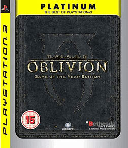 The Elder Scrolls IV: Oblivion Game of the Year Edition PlayStation 3 Cover Art