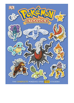 Pokemon Stickedex Strategy Guides and Books
