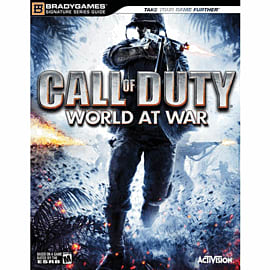 Call Of Duty: World at War Signature Strategy Guide Strategy Guides and Books