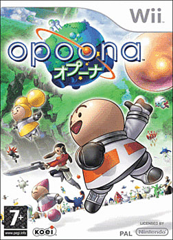 Opoona Wii Cover Art