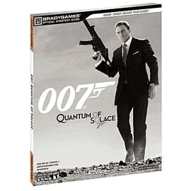 Quantum of Solace Official Strategy Guide Strategy Guides and Books