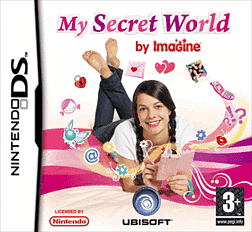 My Secret World by Imagine DSi and DS Lite Cover Art