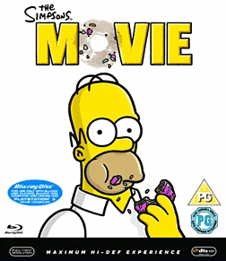 The Simpsons Movie Blu-ray