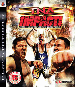 TNA Impact! PlayStation 3 Cover Art