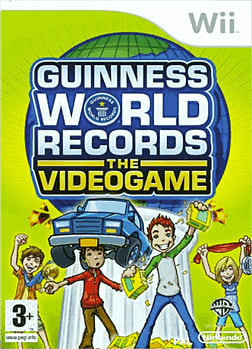 Guinness World Records: The Videogame Wii Cover Art