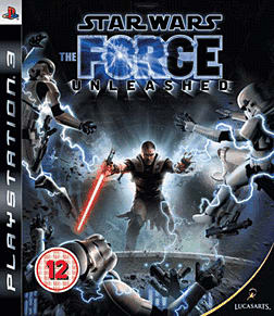 Star Wars: The Force Unleashed PlayStation 3 Cover Art