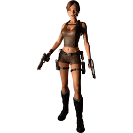 Lara Croft Figure Toys and Gadgets