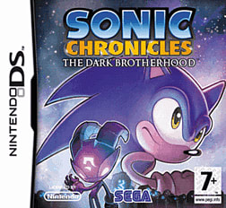 Sonic Chronicles - The Dark Brotherhood DSi and DS Lite Cover Art