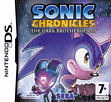 Sonic Chronicles - The Dark Brotherhood DSi and DS Lite