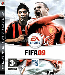 FIFA 09 PlayStation 3 Cover Art