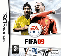 FIFA 09 DSi and DS Lite Cover Art