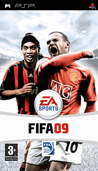 FIFA 09 PSP Cover Art