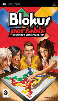 Blockus PSP Cover Art