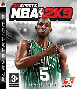 NBA 2k9 PlayStation 3 Cover Art