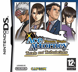 Phoenix Wright: Ace Attorney - Trials and Tribulations DSi and DS Lite Cover Art