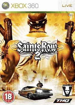 Saints Row 2 Xbox 360 Cover Art