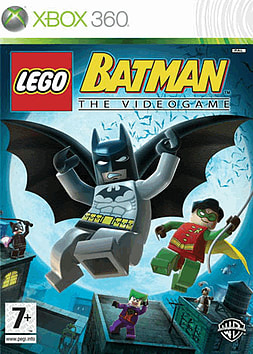 LEGO Batman: The Video Game Xbox 360 Cover Art