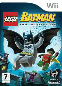 LEGO Batman: The Video Game Wii Cover Art