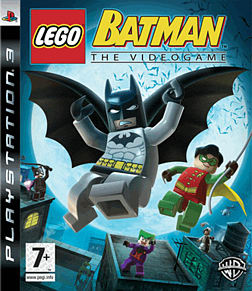 LEGO Batman: The Video Game PlayStation 3 Cover Art