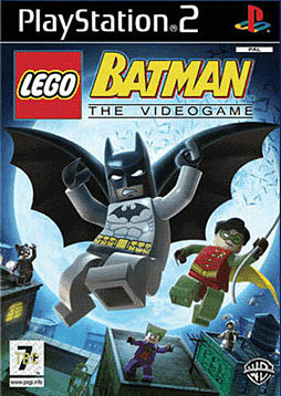 LEGO Batman: The Video Game PlayStation 2 Cover Art