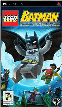 LEGO Batman: The Video Game PSP Cover Art