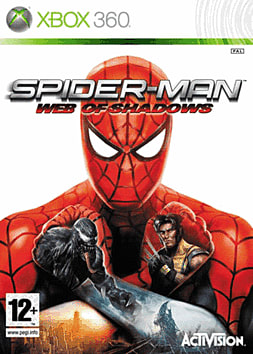 Spider-Man: Web of Shadows Xbox 360 Cover Art