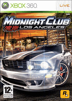 Midnight Club: Los Angeles Xbox 360 Cover Art