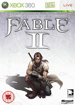 Fable II: Limited Collectors Edition Xbox 360 Cover Art