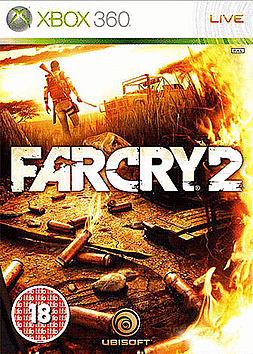 Far Cry 2 Xbox 360 Cover Art