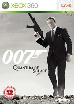 James Bond 007: Quantum of Solace Xbox 360 Cover Art