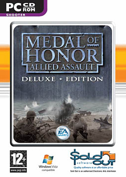 Medal of Honour Allied Assault Gold Edition PC Cover Art