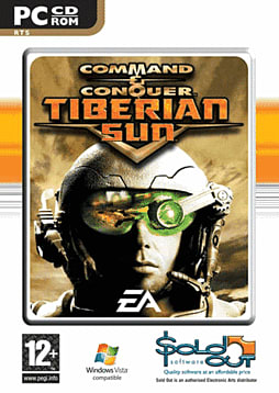 Command and Conquer: Tiberian Sun PC Games and Downloads Cover Art