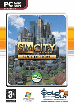 Sim City 3000 PC Games and Downloads Cover Art
