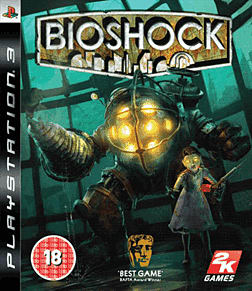 BioShock PlayStation 3 Cover Art