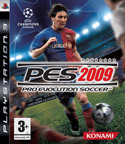 Pro Evolution Soccer 2009 PlayStation 3 Cover Art