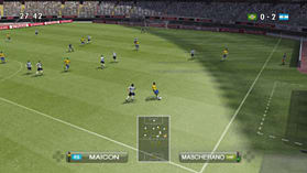 Pro Evolution Soccer 2009 screen shot 4