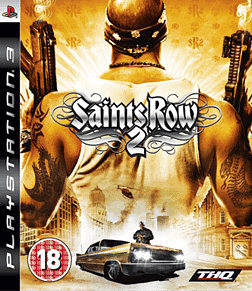 Saints Row 2 PlayStation 3 Cover Art