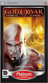 God Of War Platinum PSP