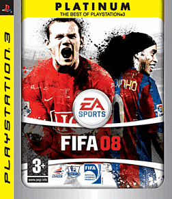 FIFA 08 Platinum PlayStation 3 Cover Art