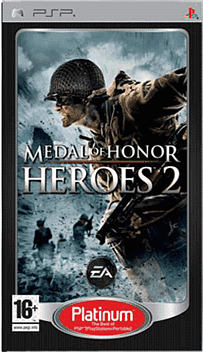 Medal of Honour 2 Platinum PSP Cover Art