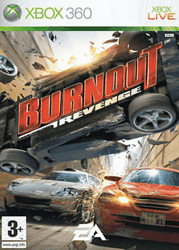Burnout Revenge Xbox 360 Cover Art