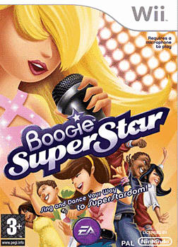 Boogie Superstar with Microphone Wii Cover Art