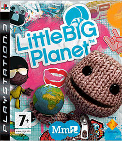 LittleBigPlanet PlayStation 3 Cover Art